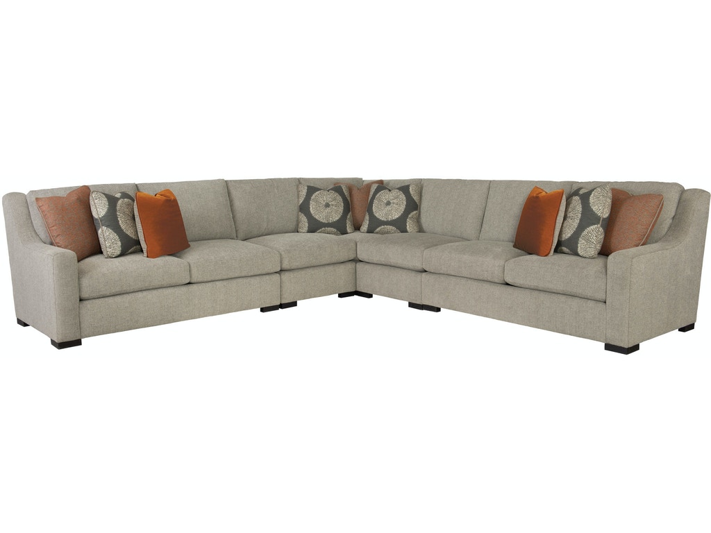 Bernhardt living room sectional b2642 b2630 b2632 b2641 for Chaise edmonton