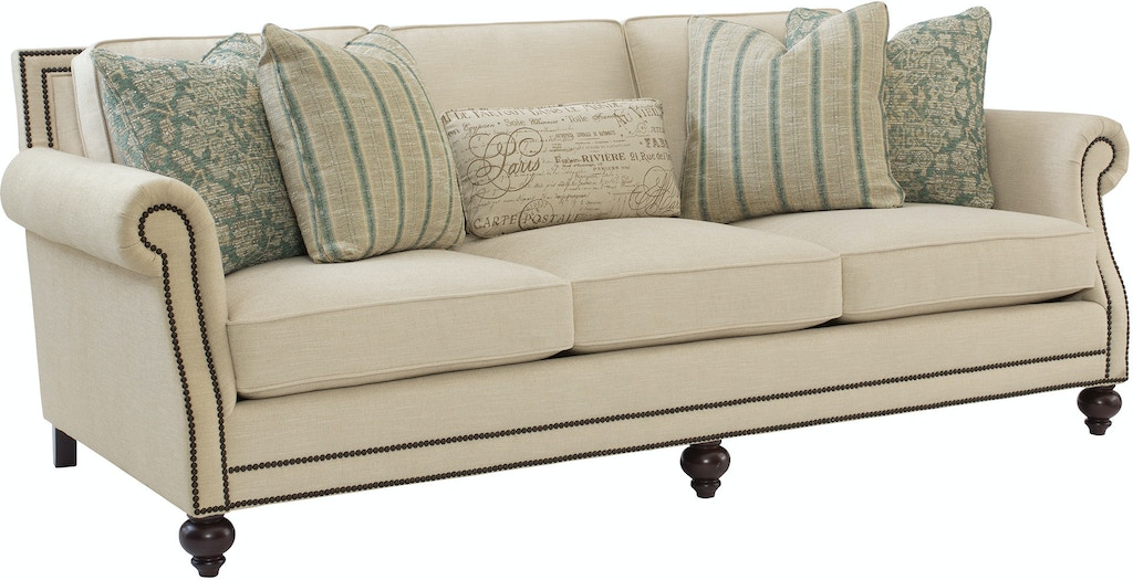 Pleasing Bernhardt Living Room Sofa B6717 West Coast Living Beutiful Home Inspiration Truamahrainfo