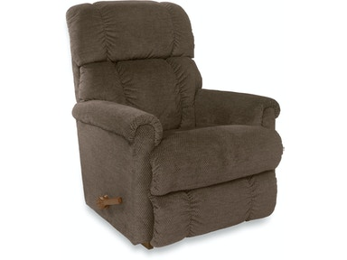 Pinnacle Reclina-Rocker Recliner (STOCK PHOTO....LEATHER AT THIS PRICE!!) 10512