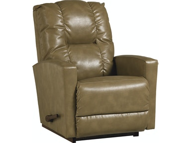 RECLINA-ROCKER® Recliner (STOCK PHOTO..LEATHER AT THIS PRICE!!) 10767
