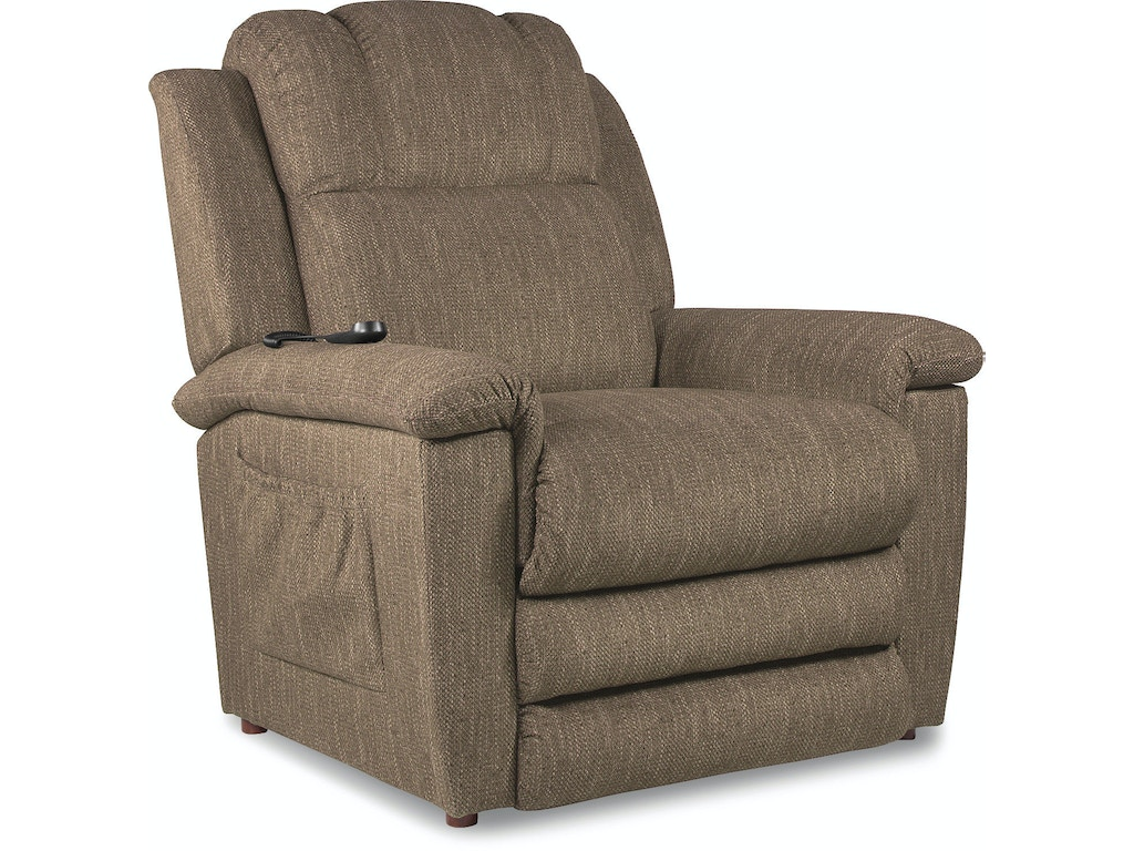 La z boy living room gold luxury lift power recliner with for La motors hickory nc