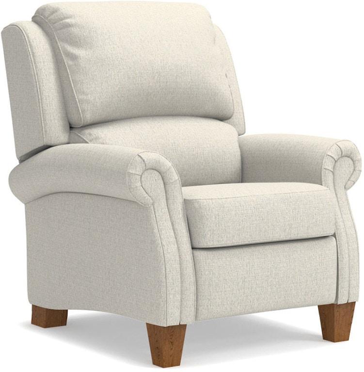 Admirable La Z Boy Living Room Carleton High Leg Recliner 295471 Bralicious Painted Fabric Chair Ideas Braliciousco