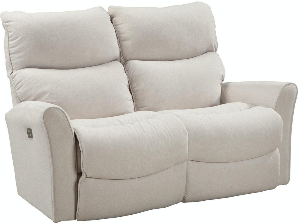 Miraculous La Z Boy Living Room Rowan Power Recline Xrw Full Reclining Machost Co Dining Chair Design Ideas Machostcouk
