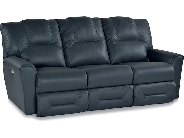 La-Z-Boy Living Room Power La-Z-Time® Full Reclining Sofa 44P702 ...