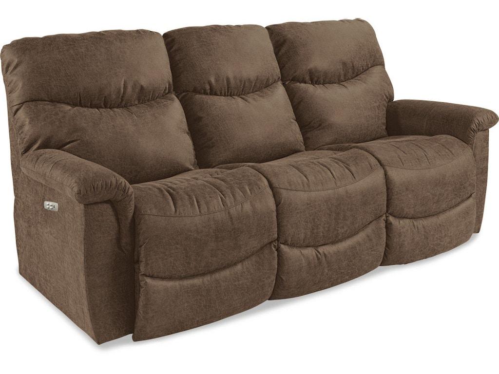 La Z Boy Living Room La Z Time Power Recline With Power Headrest Full Reclining Sofa 44u521