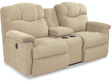 La-Z-Boy Lancer Power La-Z-Time Full Reclining Loveseat With Middle Console 49P515