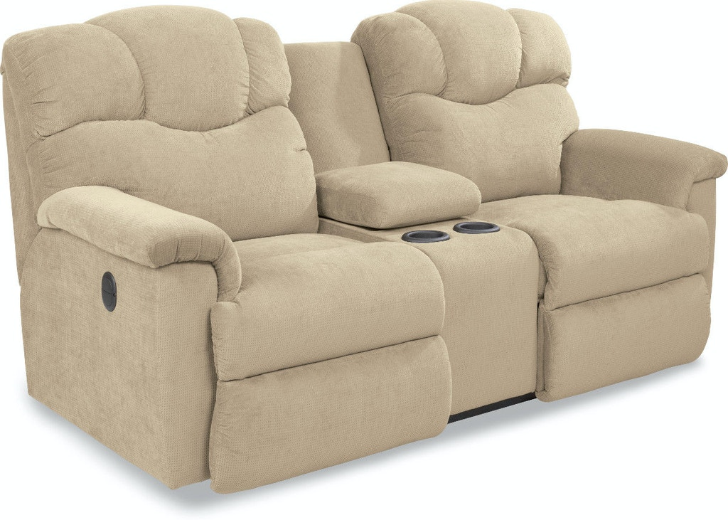 Stupendous Power La Z Time Full Reclining Loveseat With Console Creativecarmelina Interior Chair Design Creativecarmelinacom