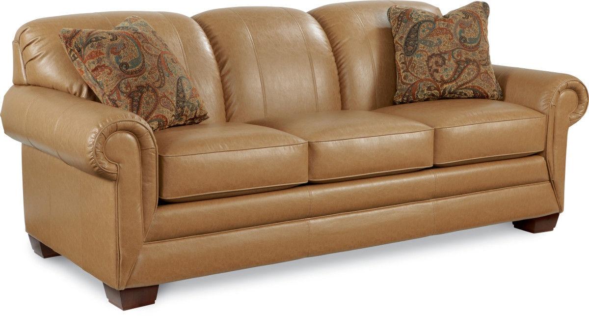 Living Room La Z Boy Premier SUPREME FORT™ Queen Sleep Sofa Andrews Furniture