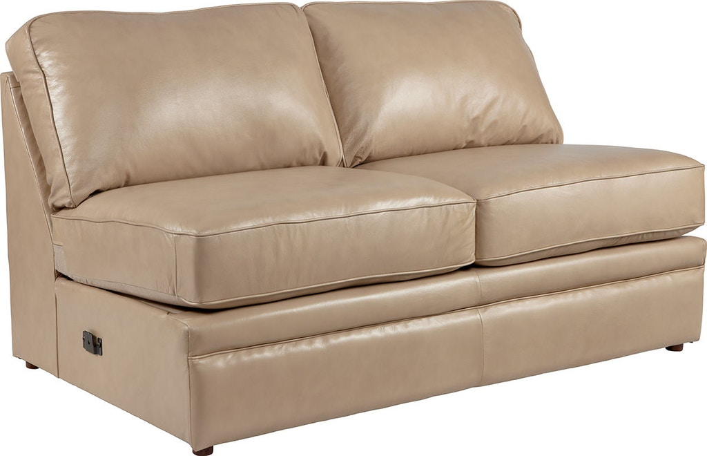 La-Z-Boy Living Room Collins Armless Full Sleeper Sofa ...