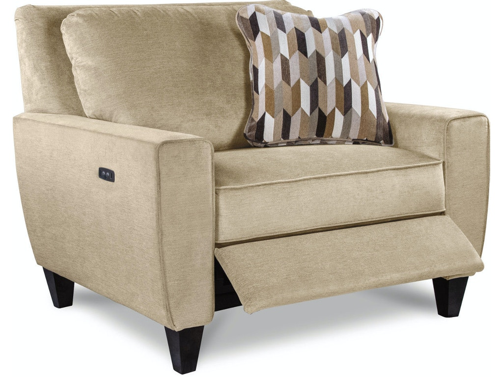 La Z Boy Living Room Duo Reclining Chair And A Half 95p897 Robinson 39 S Furniture Oxford Pa