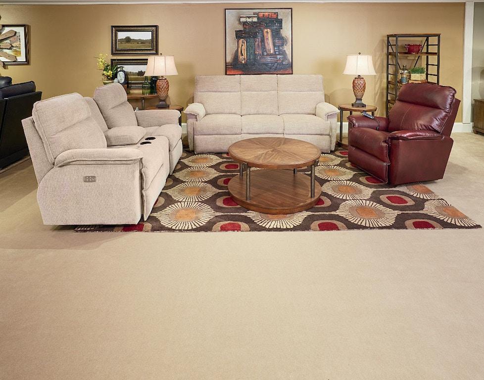 La Z Boy Living Room Jay La Z Time 174 Full Reclining Sofa