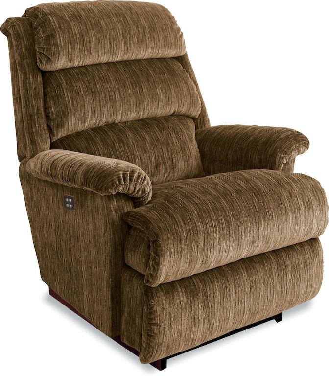 Miraculous La Z Boy Living Room Astor Power Recline Xr Reclina Rocker Machost Co Dining Chair Design Ideas Machostcouk