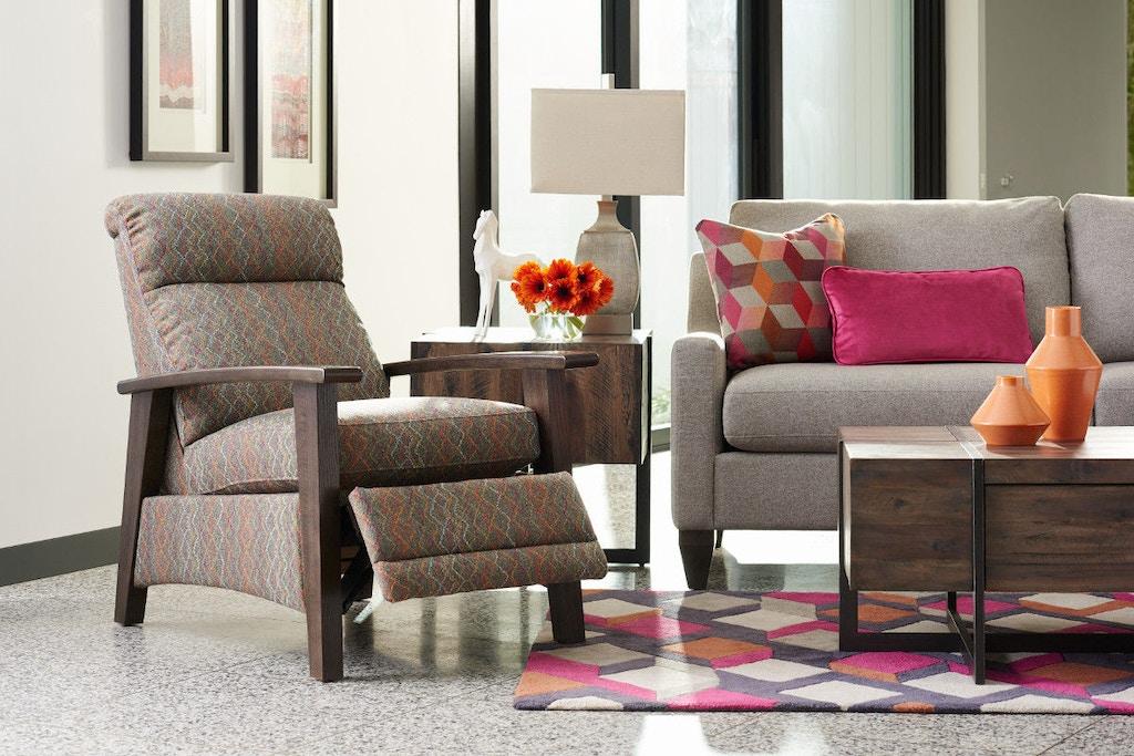 Living Room Nouveau La-Z-Boy® Low Profile Recliner 255409