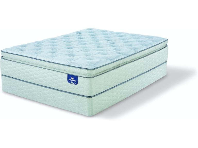 Sertapedic By Serta Mattresses Alverson Super Pillow Top Firm At Carol House Furniture