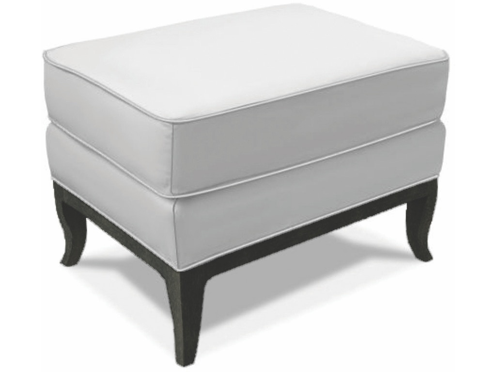 Caracole Living Room Social Butterfly Ottoman Uph Ottmat 17 Russell 39 S Fine Furniture San