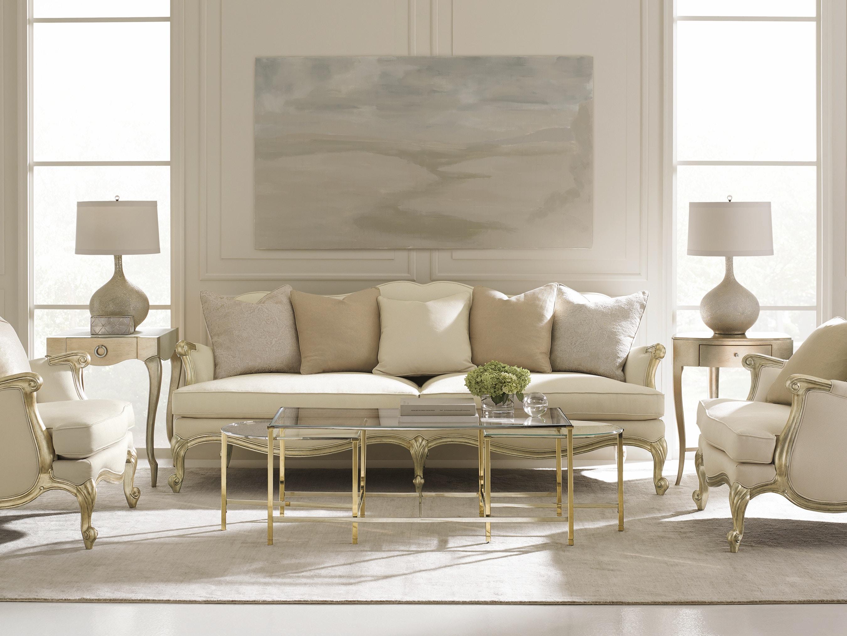 Caracole Living Room Savoir Faire Uph Chacav 27j Louis Shanks  # Muebles Savoir Faire