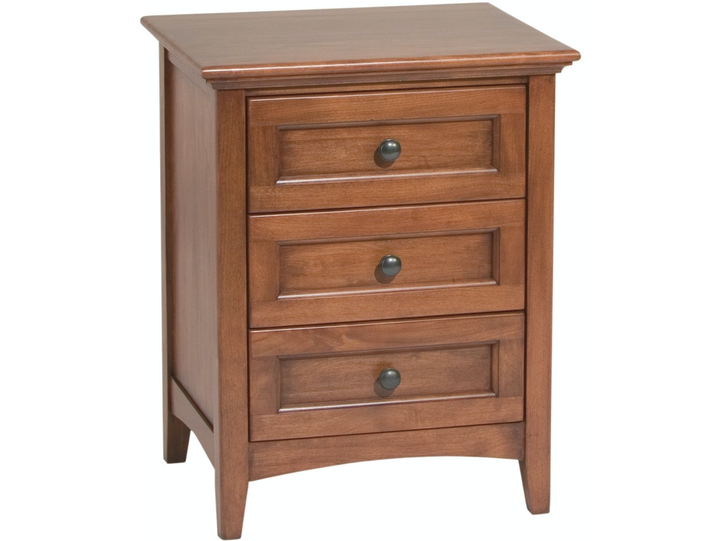 Whittier wood products bedroom gac 3 drawer mckenzie Seaside collection furniture