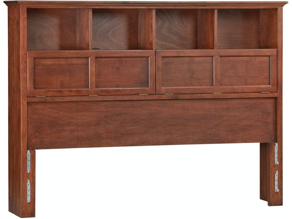 Whittier wood products bedroom gac mckenzie cal king - Bookcase headboard king bedroom set ...
