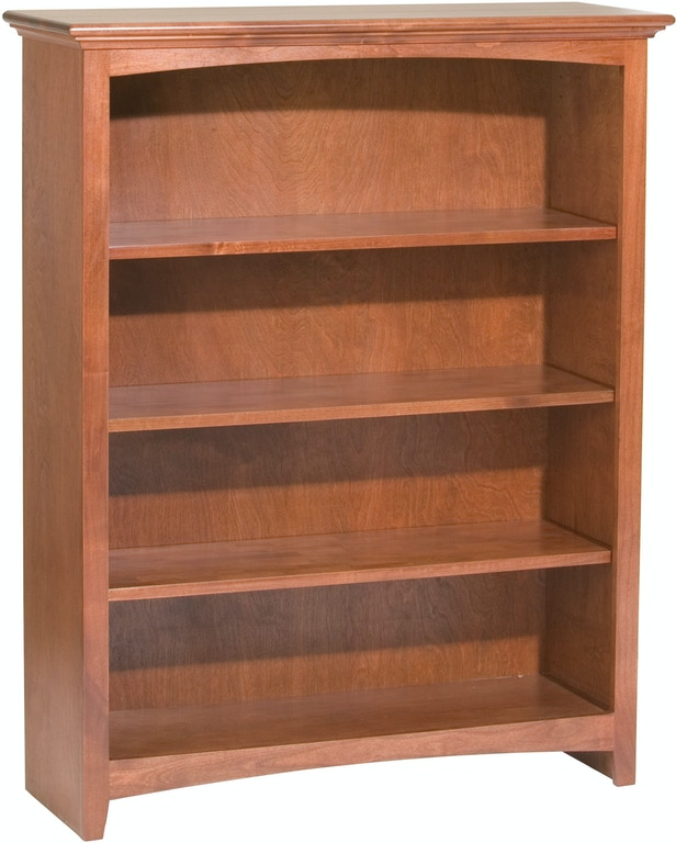 buy online c67a4 2763d Whittier Wood Products Home Office Bookcase 48'' H X 36'' W ...