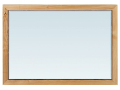 Whittier Wood Products DUET Addison Rectangular Mirror 1671DUET