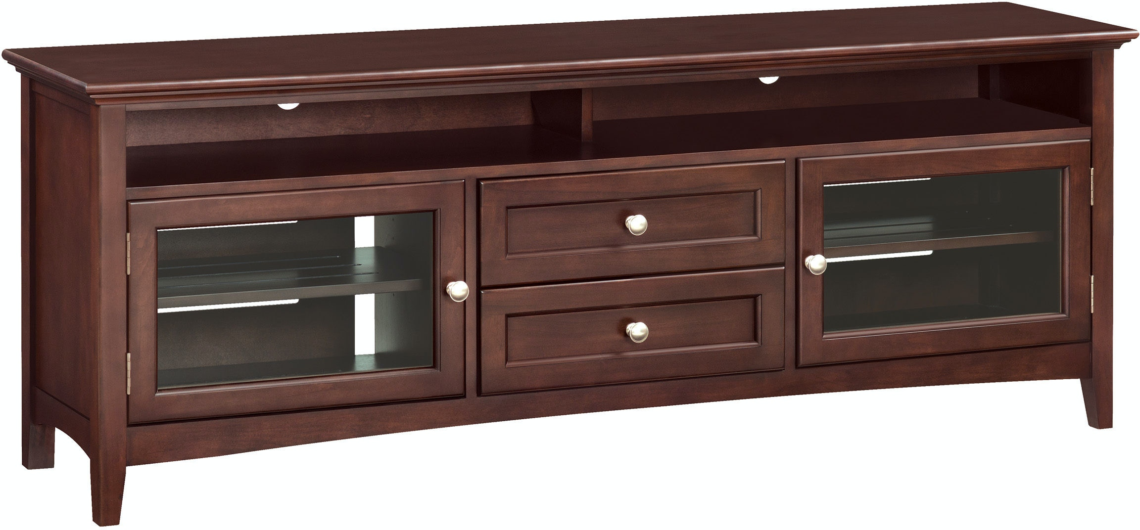 Whittier Wood Products Home Entertainment Caf 74 W