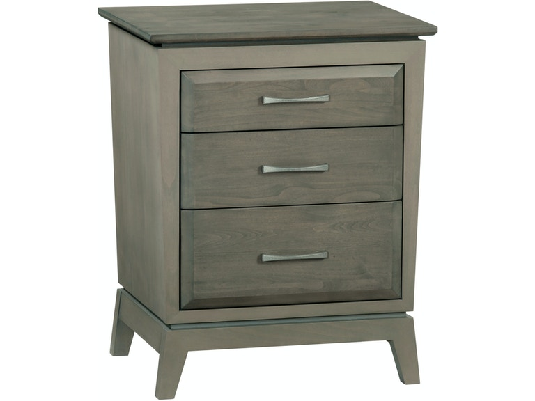 Whittier Wood Products Bedroom Ast 3 Drawer Ellison