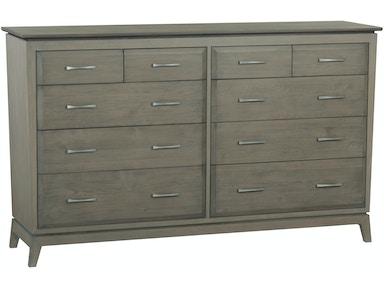 Whittier Wood Products Bedroom Ast 70 W Ellison Dresser
