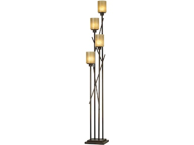 Kathy Ireland Home by Pacific Coast Lighting City Crossings Floor Uplight 85-2257-22