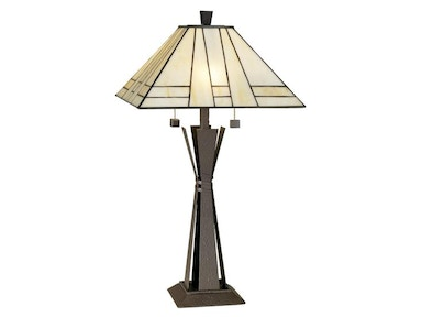 Kathy Ireland Home by Pacific Coast Lighting Citycraft Table Lamp 87-1519-20