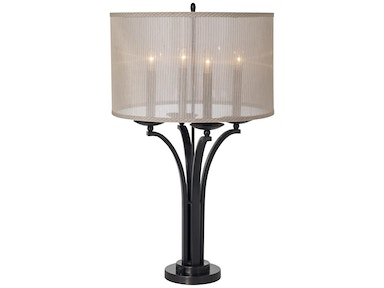 Kathy Ireland Home by Pacific Coast Lighting Pennsylvania Country Table Lamp 87-6517-20