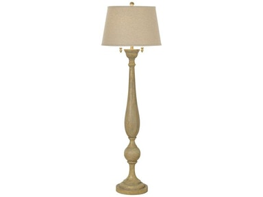 Kathy Ireland Home by Pacific Coast Lighting Grand Maison Floor Lamp - Grey 85-2508-9C