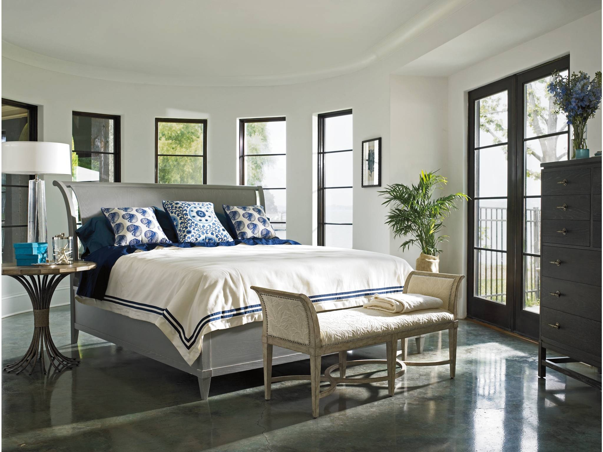 coastal living bedroom furniture. Coastal Living Surfside Bed End Bench 062-23-72 Coastal Living Bedroom Furniture