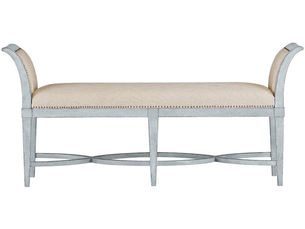 Coastal Living Bedroom Surfside Bed End Bench 062 H3 72 Aaron 39 S Fine Furniture Altamonte
