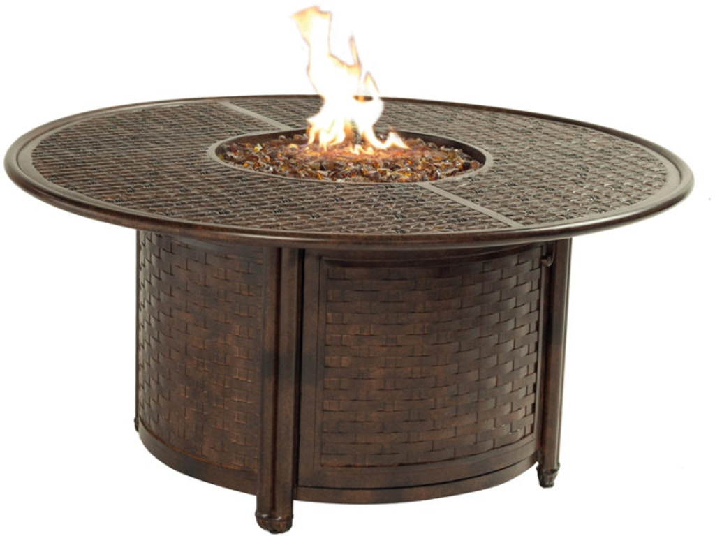 Castelle outdoor patio 49 39 39 round coffee table bcf48cwl for Table 52 naples