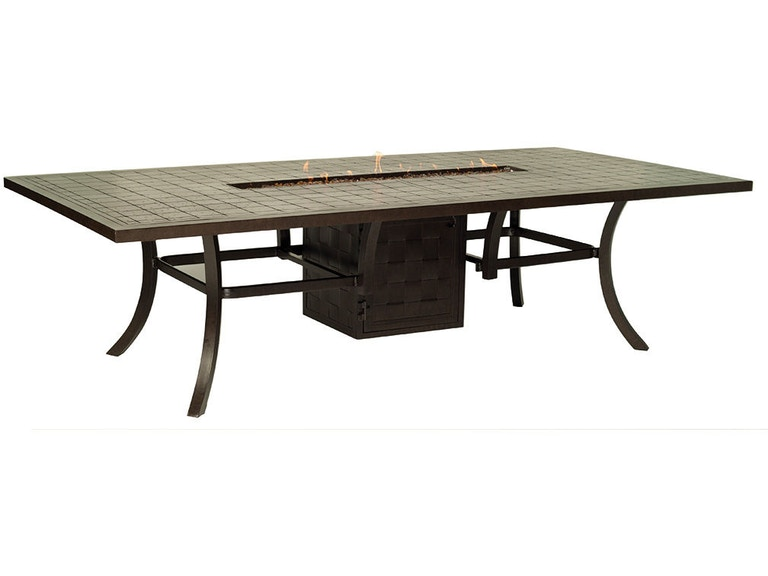Castelle 54 X 108 Rectangular Dining Table Vrf108wl West Columbia Sc Tropic Aire