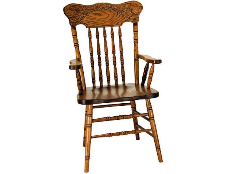 Press Back Arm Chair Vvo17201