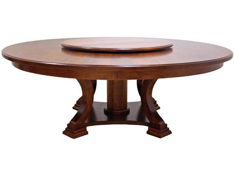 Canal Dover Furniture Dining Room 84 Birmingham Table With Lazy Susan 23011 At Habegger Inc