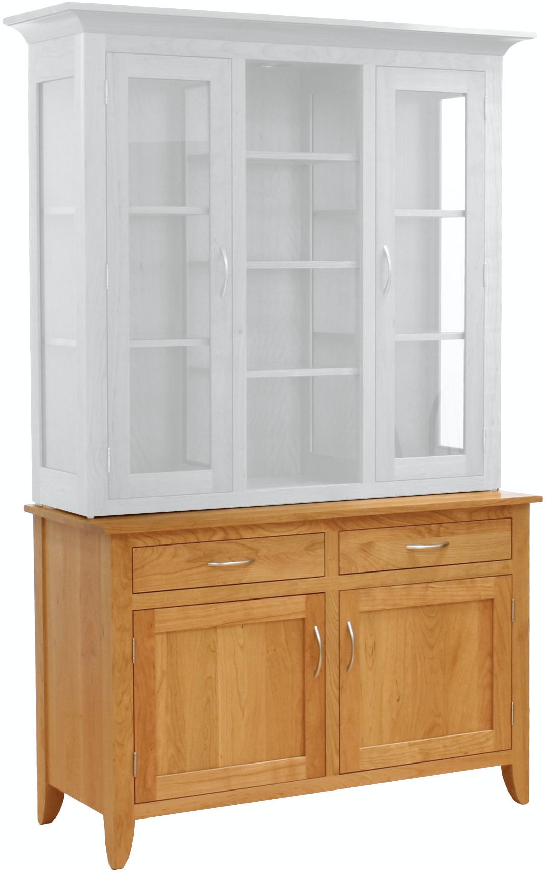 new products b854b 71356 Valley View Oak Dining Room Modern Shaker Buffet VVO31014 Walter E. Smithe  Furniture + Design