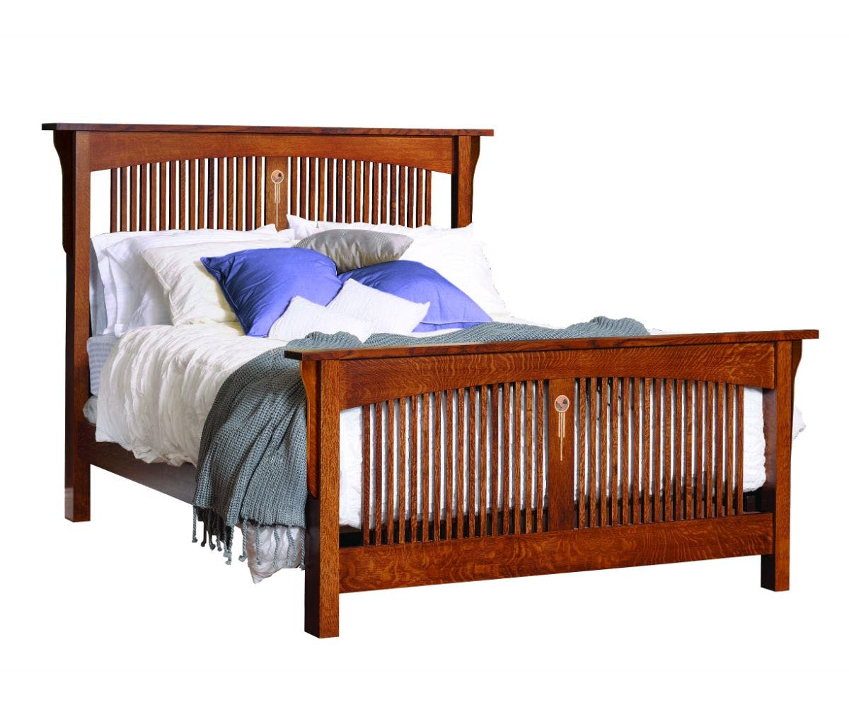 Arched Spindle Bed Queen 8x 4116