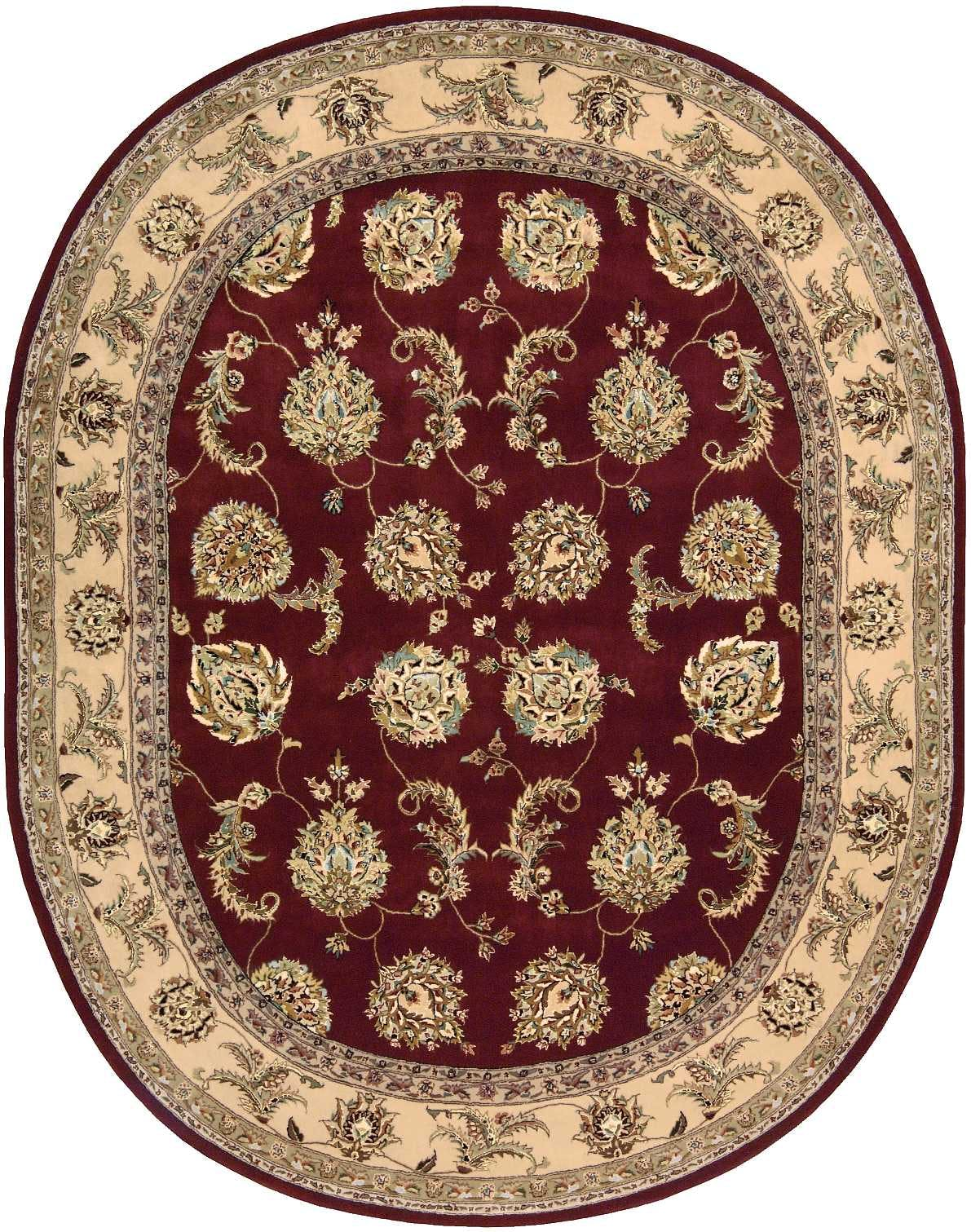 Image of: Nourison Floor Coverings 2000 2022 Lacquer 10 Oval Area Rug 099446863096 Aminis