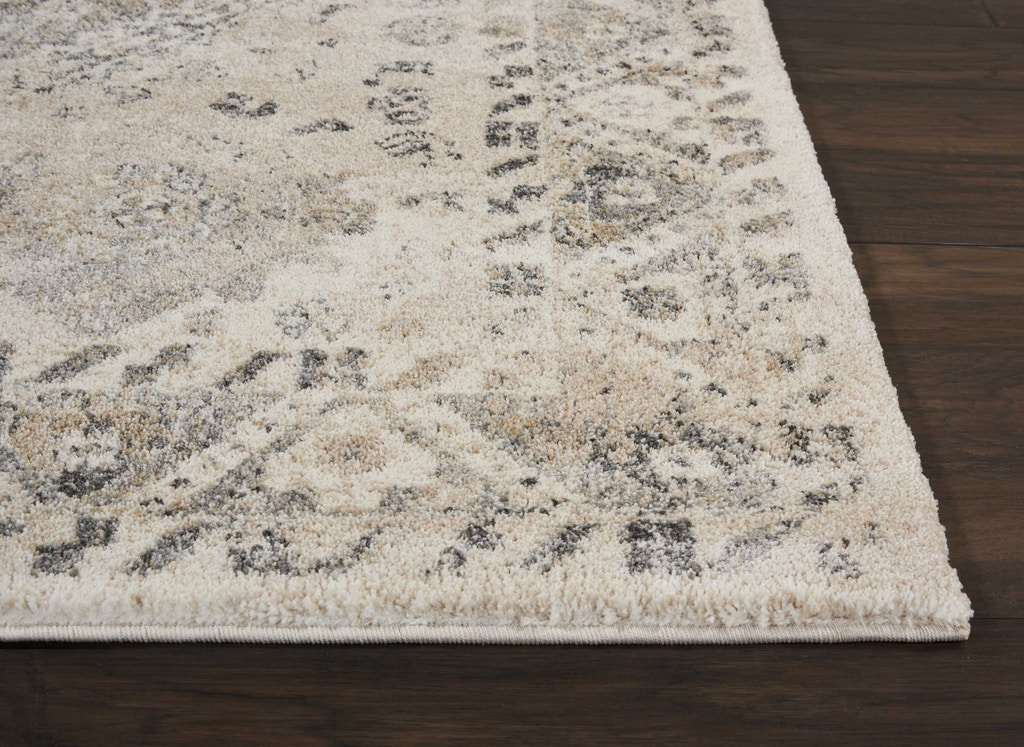 Floor Coverings Fusion Cream Grey Area Rug