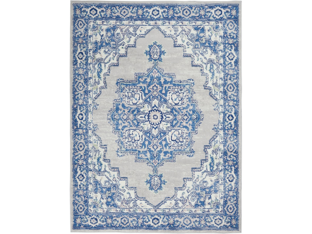 Nourison Floor Coverings Whimsicle Whs03 Grey Blue Area Rug Ridgemont Furniture Louisville Ky