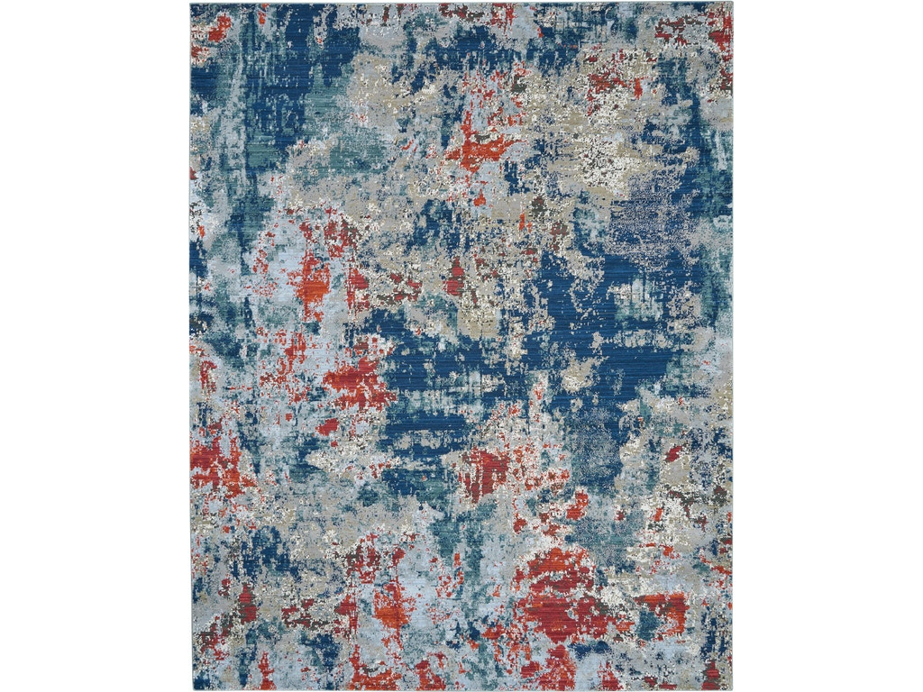 Artworks Atw01 Navy Brick Area Rug