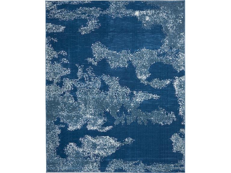Etchings Etc03 Blue Area Rug