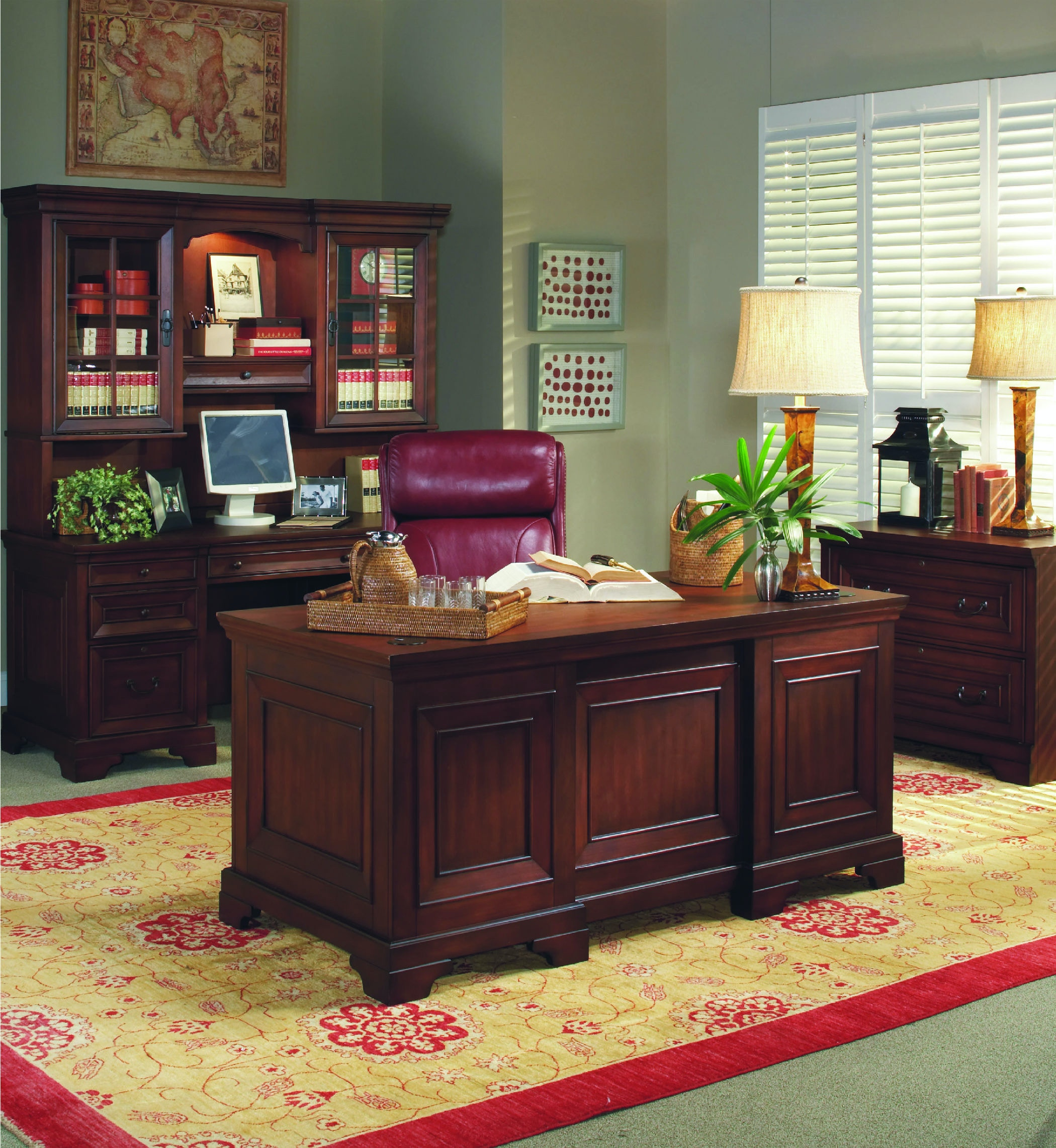 Homeworks Richmond Lateral File Cabinet HWI40331 From Walter E. Smithe  Furniture + Design