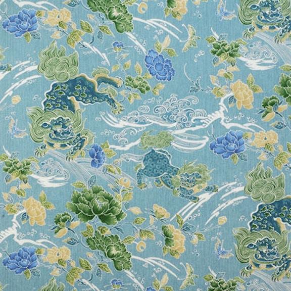 Le Jardin Chinois Brunschwig: Brunschwig & Fils SHISHI TURQUOISE 8012109.13