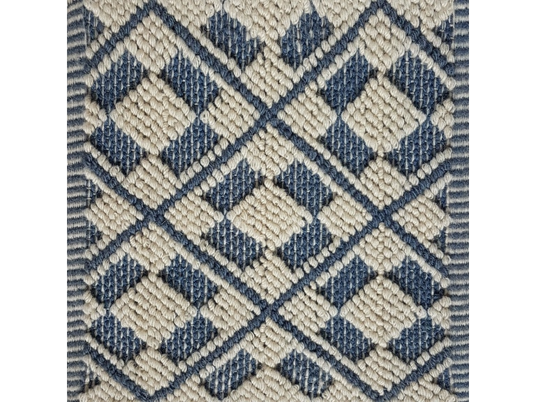 Brunschwig Carpet V3-16767/Sp.Blue White CB-102099.BLUE WHITE.0