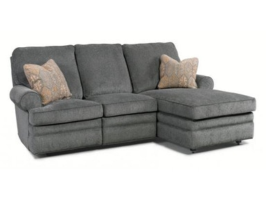 MotionCraft Two Piece Sectional 7121MSB_7102-XSB