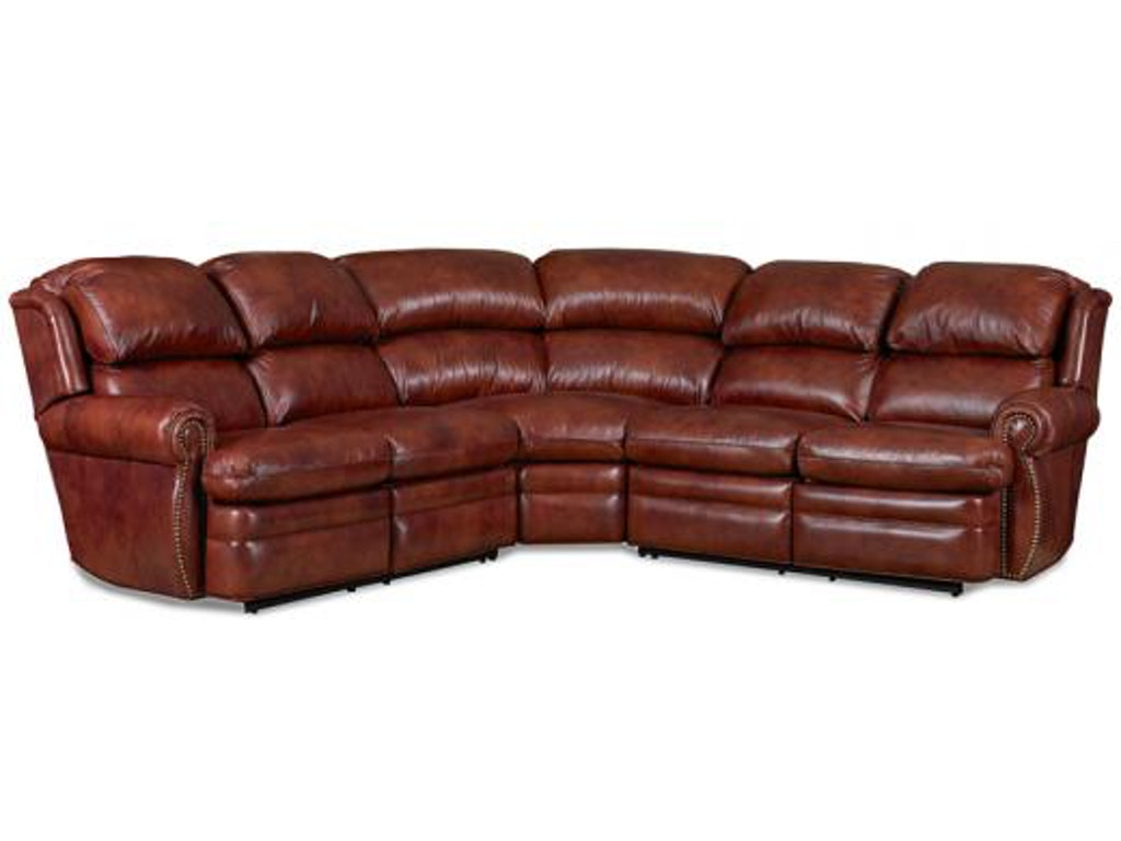 Motioncraft Living Room Casey 3 Piece Sectional ...