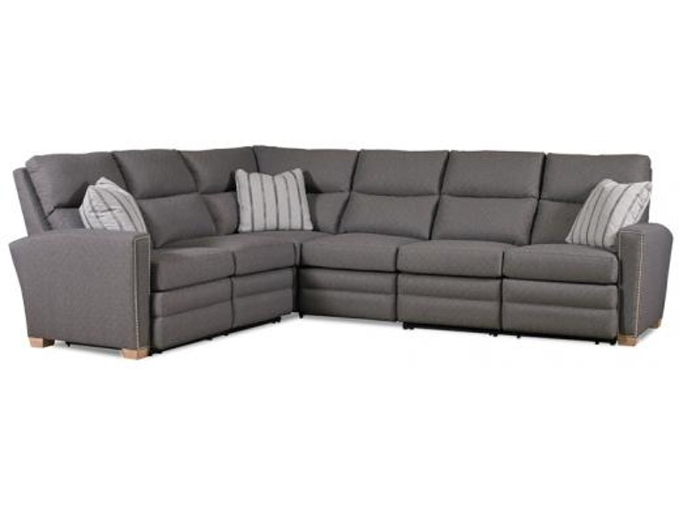 MotionCraft Living Room Julian Four Piece Sectional ...